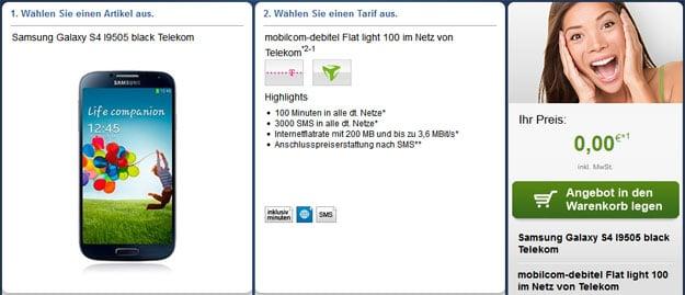 Mobilcom-debitel Flat Light 100 im Netz der Telekom