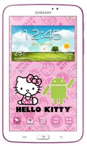 Samsung Galaxy Tab 3 (7.0) WiFi Hello Kitty Edition für 99 €