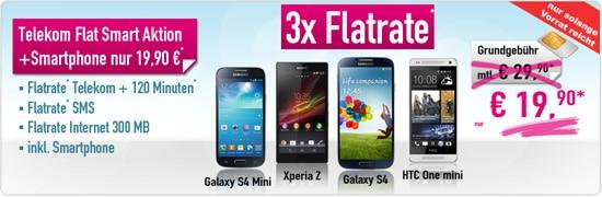 Telekom Flat Smart mit Auszahlung bei Handybude