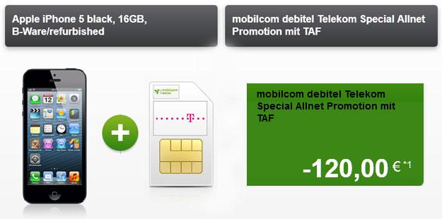 iPhone 5 - Telekom Special Allnet