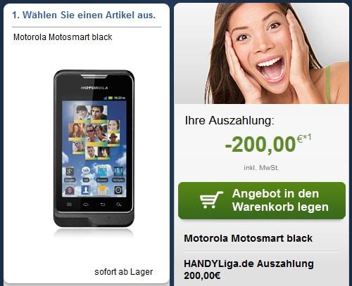 Tele2 Allnet mit 200 € Auszahlung