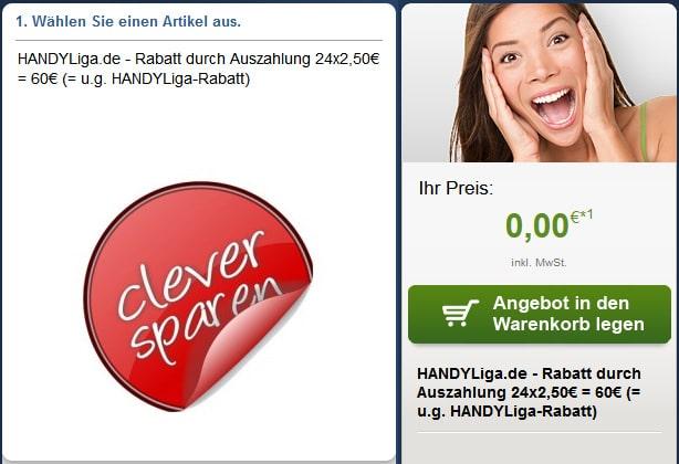 o2 Allnet mit 60 € Auszahlung
