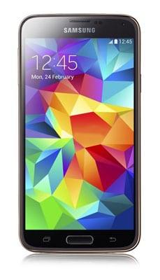 Samsung Galaxy S5 gold mit 88 € Gewinn