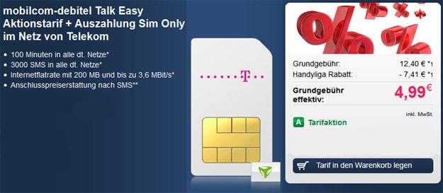 mobilcom-debitel Talk Easy Telekom