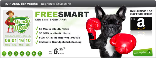 freesmart Amazon-Gutschein