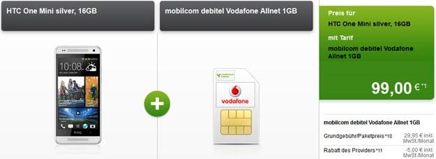 HTC One Mini mit Vodafone Allnet