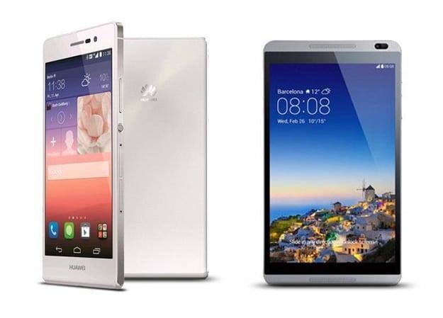 Huawei Ascend P7 mit Mediapad