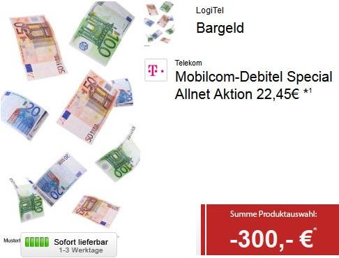 Telekom Special Allnet mit 300 € Auszahlung