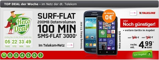 Talk Easy 100 Telekom im Hero-Deal