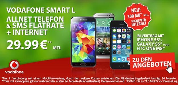 Vodafone Smart L und XL bei Preisboerse24