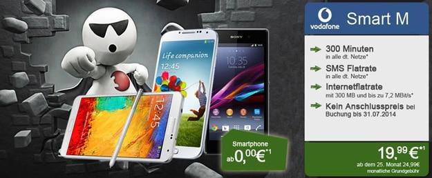 Vodafone Smart M bei Handyliga