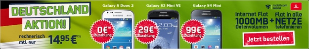 Deutschland-Aktion mit Nokia Lumia 1020
