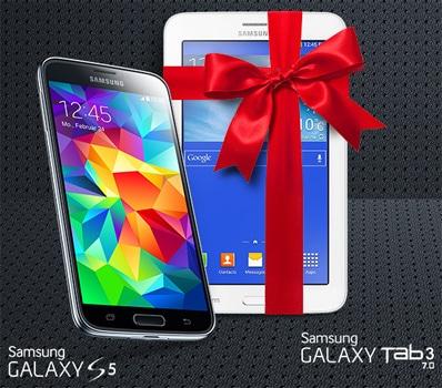 Samsung Galaxy S5 + Galaxy Tab 3 (7.0) Lite WiFi