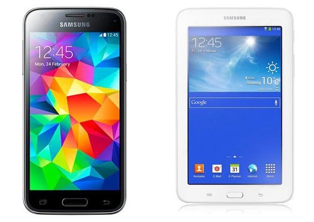 Vodafone Smart M mit Samsung Galaxy S5 Mini und Tab 3 (7.0) Lite WiFi