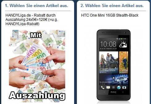 Telekom Flat Smart mit HTC One Mini