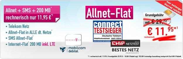 Telekom Special Allnet mit 192 € Auszahlung