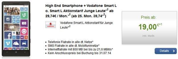 Vodafone Smart L Junge Leute