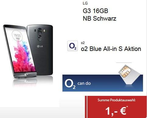 LG G3 u.a. mit o2 Blue All-in S