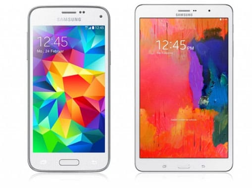 Flat 4 You (md) mit Samsung Galaxy S5 Mini + TabPro (8.4)