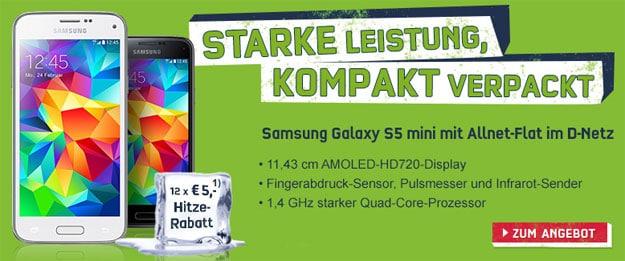 Samsung Galaxy S5 Mini zu Telekom Special Allnet