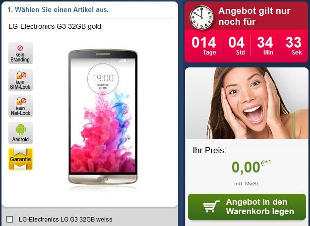 Telekom Special Allnet + LG G3, iPhone 5s u.a.