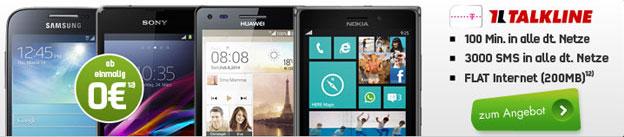 Talkline Telekom Talk Easy 100 mit Handys