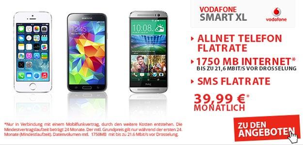 Vodafone Smart XL mit Handy & Tablet