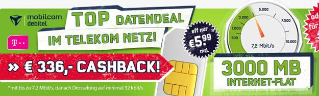 3 GB LTE-Datenflat der Telekom