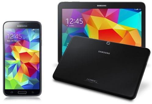 Samsung Galaxy S5 + Galaxy Tab 4