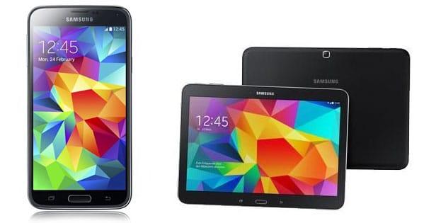 Telekom Complete Comfort S mit Samsung Galaxy S5 + Tab 4 (10.1) WiFi