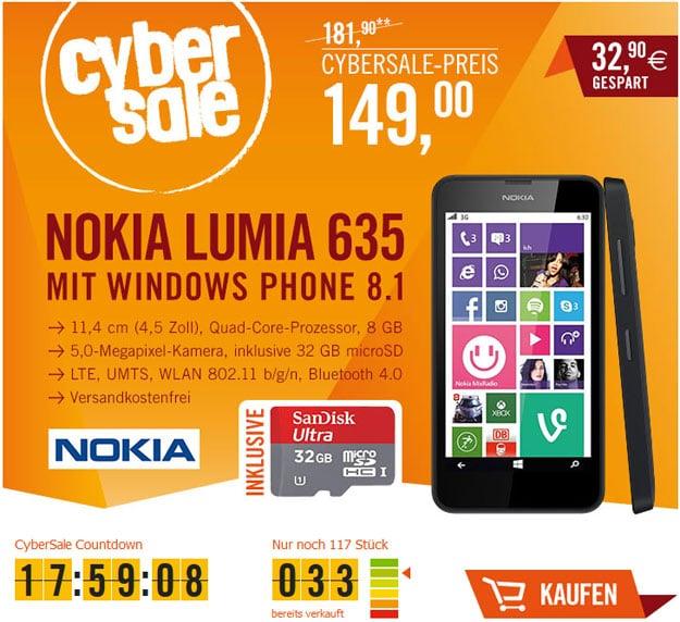 Cybersale Nokia Lumia 635