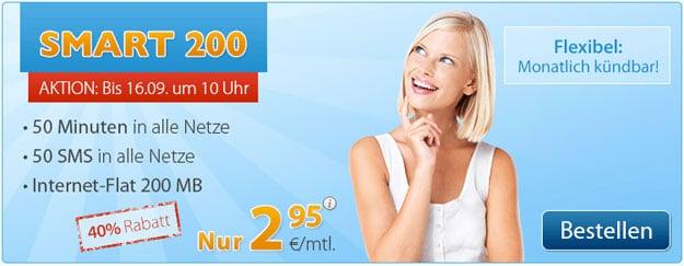Discoplus Smart 200 für 2,95 € mtl.