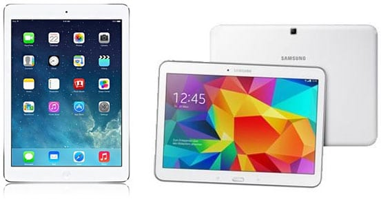 iPad Air oder Samsung Galaxy Tab 4