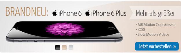 iPhone 6 und iPhone 6 Plus mit PremiumSIM-Tarifen