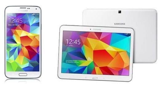 Samsung Galaxy S5 + Tab 4 (10.1) WiFi mit Telekom Complete Comfort S