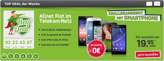 Telekom Special Allnet (md) z.B. mit Samsung Galaxy S4 Mini