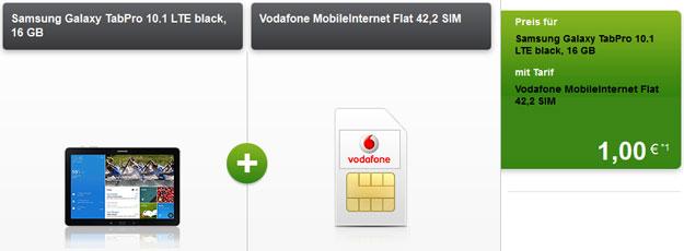 6 GB LTE-Flat mit Samsung Galaxy TabPro (10.1)