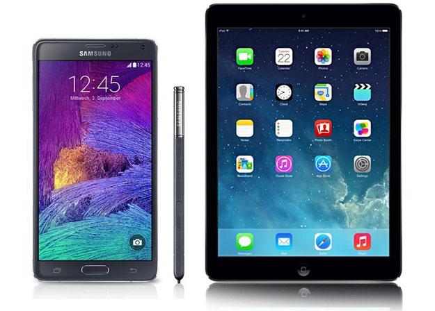Telekom Comfort S mit Data Comfort + Samsung Galaxy Note 4 & iPad Air