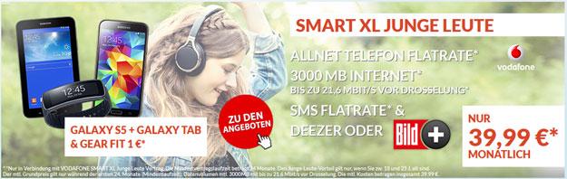 Vodafone Smart XL + Handy und Tablet