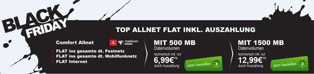 Vodafone comfort Allnet für 6,99 € im Monat am Black Friday
