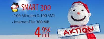 DeutschlandSIM Smart 300 Aktion