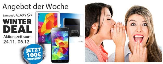 Samsung Galaxy S5 mit Playstation oder Tab 4