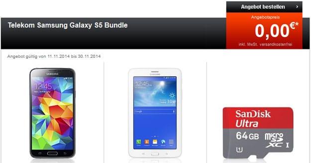 Telekom Complete Comfort S mit S5 + SD-Karte + Tablet