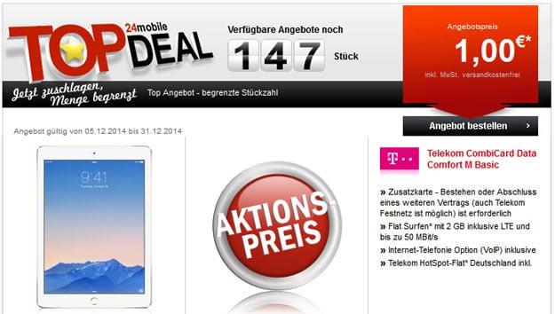 Top Deal Data Comfort M mit iPad Air