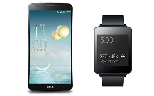 Vodafone Smart M + LG G Flex & G Watch