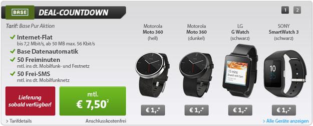 Smartwatch - BASE pur
