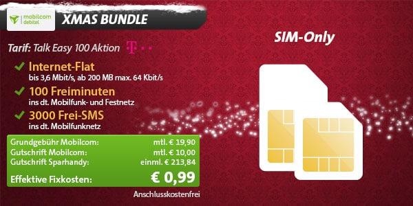 Talk Easy Telekom für 0,99 EUR