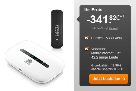 Vodafone 6 GB Datenflat - WLAN-Hotspot