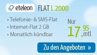 Flat L 2000 von DeutschlandSIM im Februar 2015