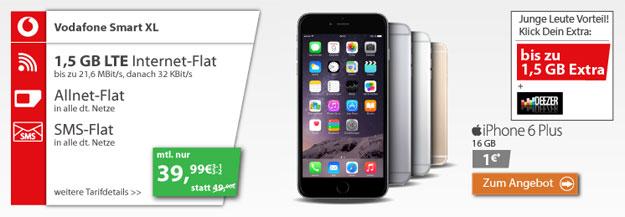 iPhone 6 Plus - Vodafone Smart XL